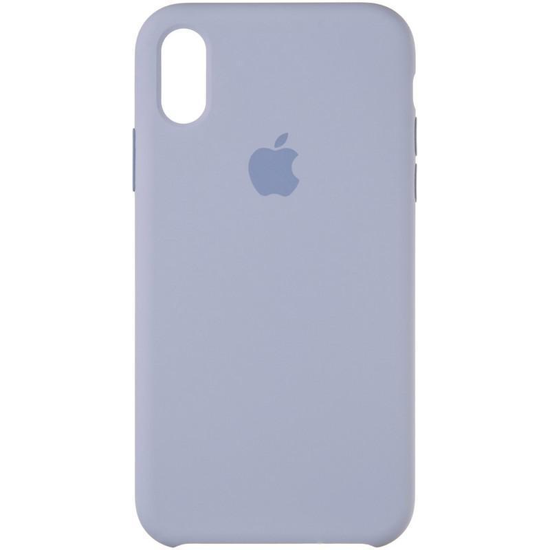 Чехол Original 99% Soft Matte Case for iPhone XR Lavender Grey