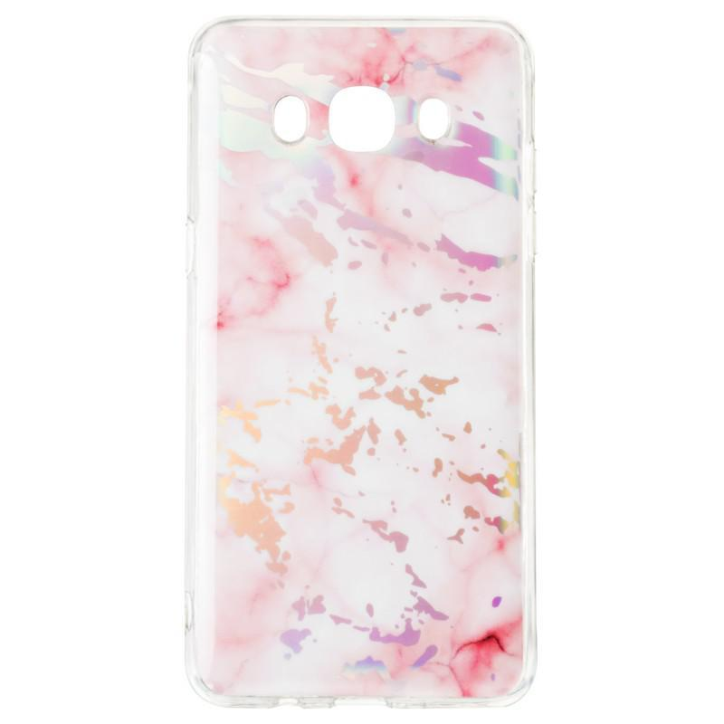 Чехол Baseus Mramor Shine Case for Samsung A750 (A7-2018) Pink