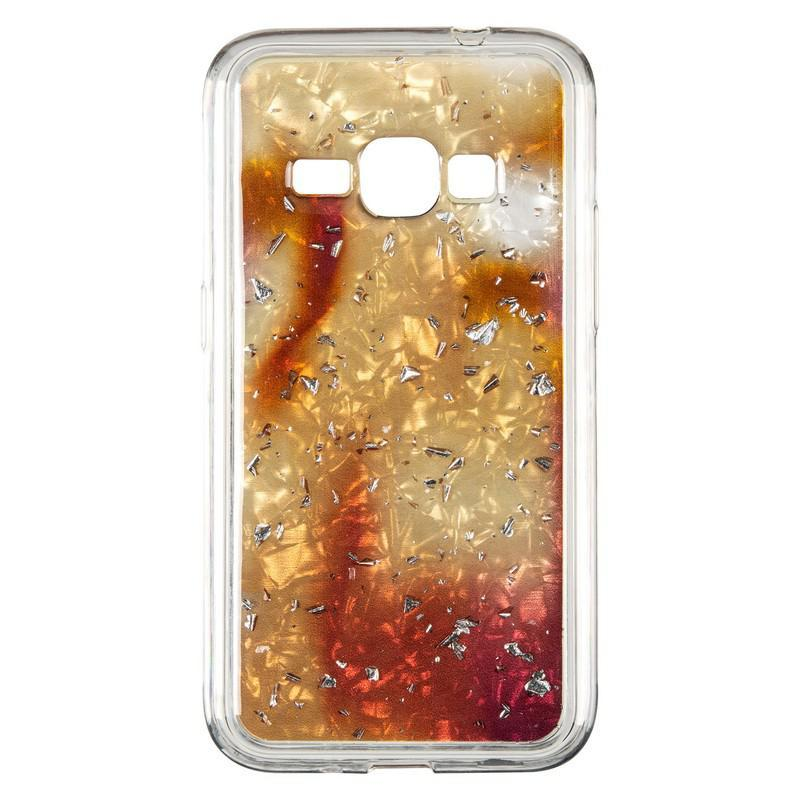 Чехол Baseus Light Stone Case for Samsung J260 (J2 Core) Gold