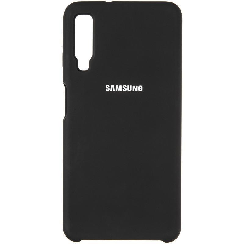 Чехол Original 99% Soft Matte Case for Samsung A750 (A7-2018) Black