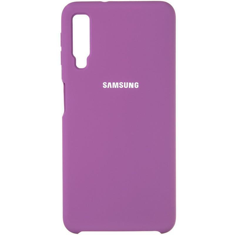 Чехол Original 99% Soft Matte Case for Samsung A750 (A7-2018) Violet