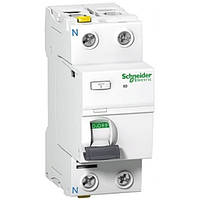 Дифференциальный выключатель (УЗО) Acti9 ilD 1P+N, 25А, 30мА, Schneider Electric