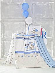 """Детское постельное белье в кроватку Турция """"ESCAPE"""" ранфорс La Romano 713-4"""