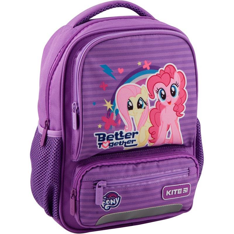 Рюкзак дошкольный Kite Kids 29х23х9 см 6 л Фиолетовый My Little Pony