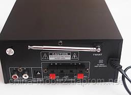 Усилитель UKC 805Bt с блютуз и караоке, MP3, FM, фото 3