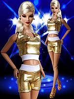Одежда для кукол Барби - топ и шорты