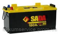 Аккумулятор автомобильный SADA Standart 190AH 3+ 1150A