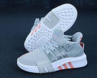 Женские кроссовки Adidas EQT Grey серые, фото 1
