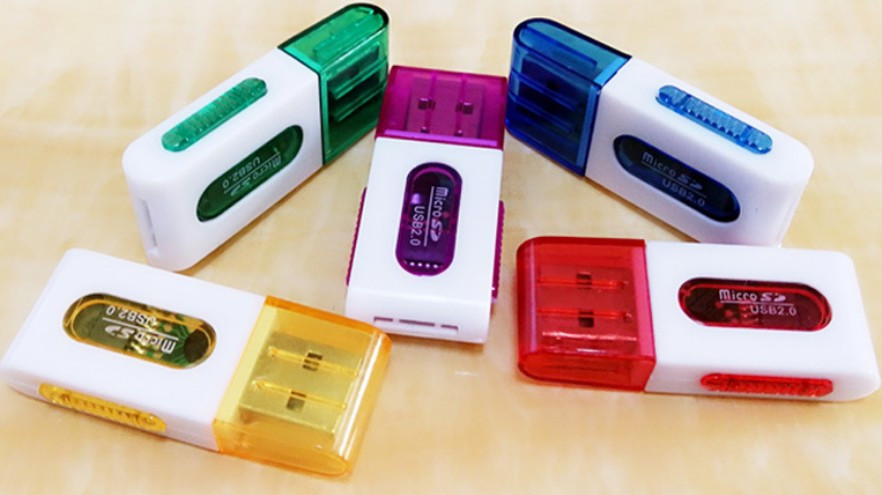 Картридер S-019 TF microSD