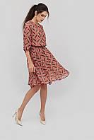 Воздушное женское платье в 2х цветах KLIPS