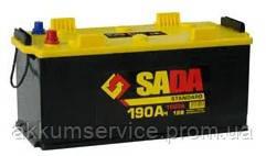 Аккумулятор автомобильный SADA Standart 190AH 4+ 1150A
