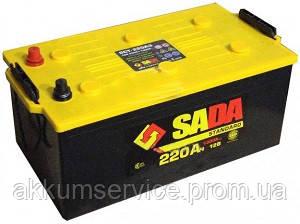 Аккумулятор автомобильный SADA Standart 220AH 3+ 1300A