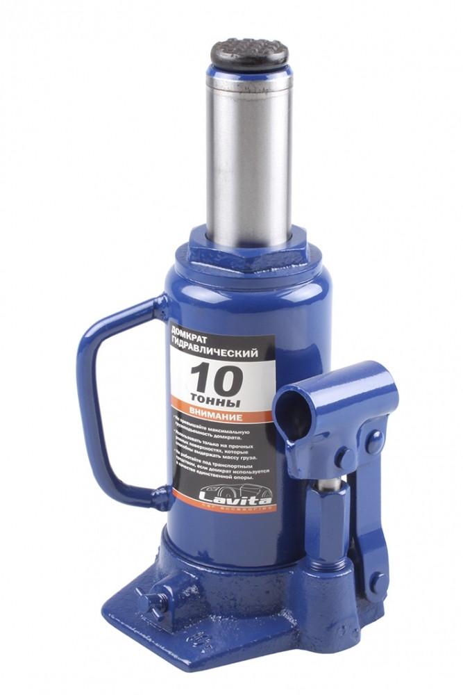 Домкрат 10т гидравлический (Бутылка) 200-385