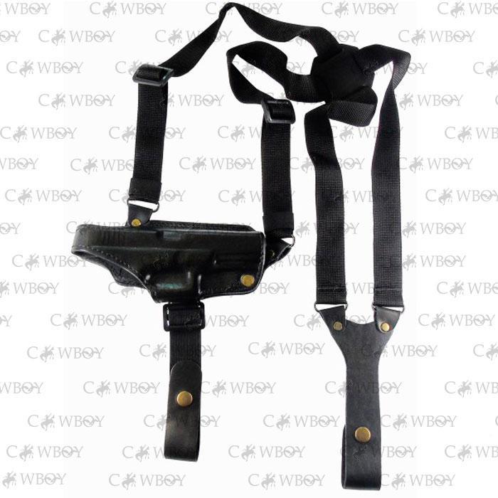 Медан 1000 Кобура оперативная Glock 17 кожаная формованная (кожа, чёрная), фото 1