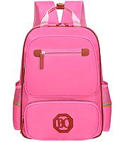 Рюкзак школьный розовый голубой. Ранец легкий 258Р