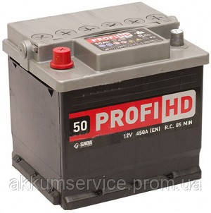 Аккумулятор автомобильный SADA Profi 50AH L+ 450A
