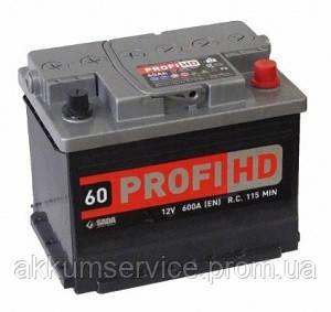 Аккумулятор автомобильный SADA Profi 60AH R+ 600A