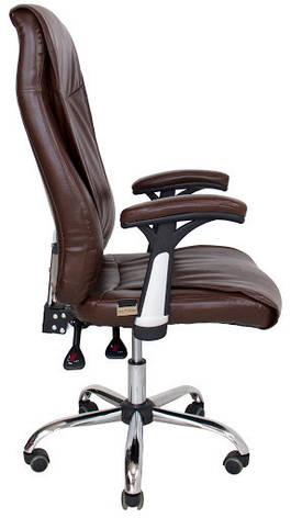 Кресло Аризона Хром М-1  Кожзам Черный, фото 2