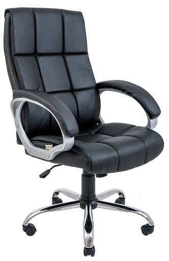 Кресло Аризона Хром М-1  Кожзам Коричневый