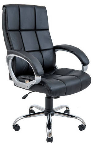 Кресло Аризона Хром М-1  Кожзам Коричневый, фото 2