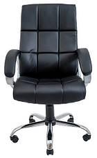 Кресло Аризона Хром М-1  Кожзам Коричневый, фото 3