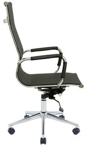 Кресло Кельн Хром сетка  Черная, фото 2