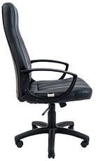 Кресло Невада Пластик Кожзам Черный, фото 2