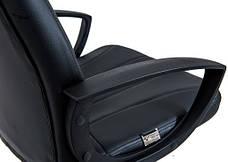 Кресло Невада Пластик Кожзам Черный, фото 3