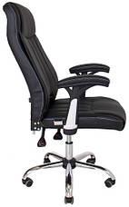 Кресло Фабио Хром М-2 Кожзам Черный, фото 2