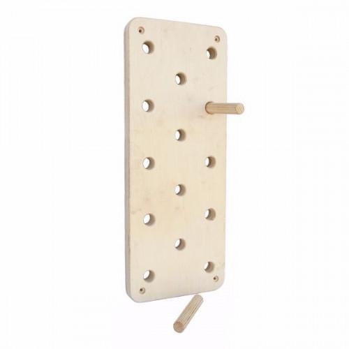 Пегборд Peg Board - доска для лазанья