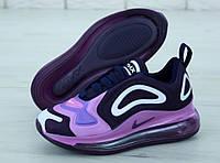 Женские кроссовки Nike Air Max 720 фиолетовые, фото 1