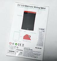 Графический планшет для рисования заметок LCD 8.5 салатовый 85126, фото 3