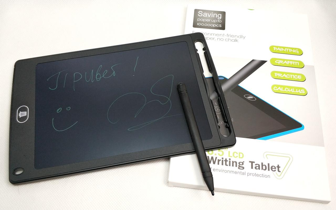 Графический планшет для рисования заметок LCD 8.5 1085A черный
