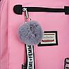 Школьный рюкзак HiFlash для девочек розовый, фото 5