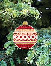 """Набор для вышивания крестом """"Счастливого рождества"""""""