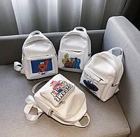 Женский тканевый рюкзак