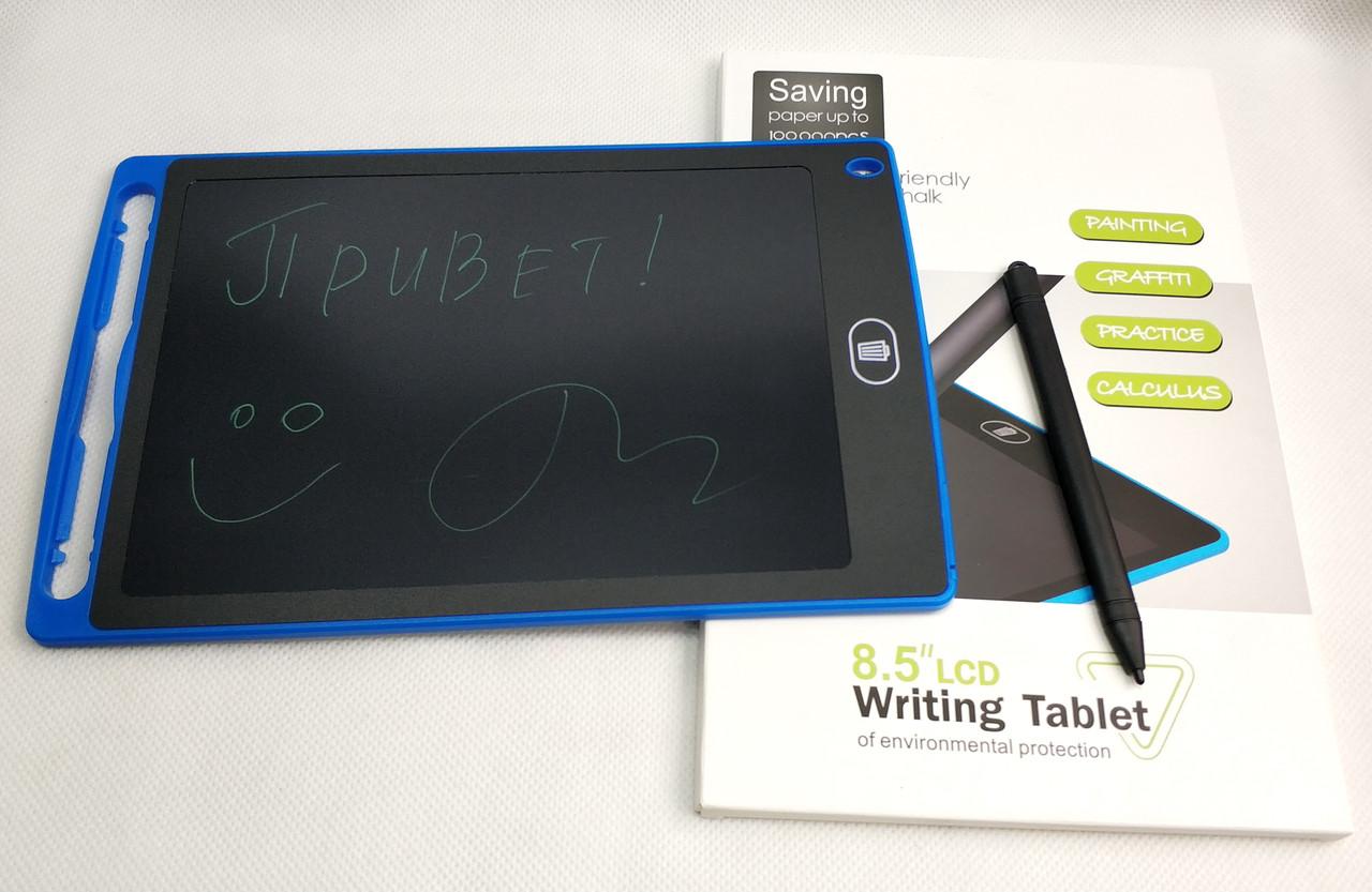 Графический планшет для рисования заметок LCD 8.5 1085A синий