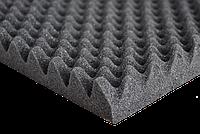 Автомобильный шумопоглотитель Acoustics Sound Wave 1000х500 мм толщина 35 мм