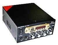 Усилитель звука Bosstron ABS-805U USB SD Караоке, фото 2