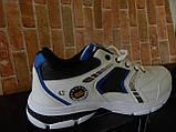 """Чоловічі стильні білі кросівки """" Bonote sport """", фото 3"""
