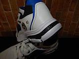 """Чоловічі стильні білі кросівки """" Bonote sport """", фото 4"""