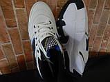 """Чоловічі стильні білі кросівки """" Bonote sport """", фото 5"""