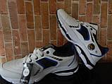 """Чоловічі стильні білі кросівки """" Bonote sport """", фото 7"""