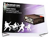 Усилитель звука Bosstron ABS-805U USB SD Караоке, фото 5