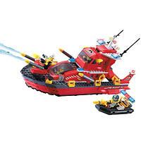 """Конструктор BRICK (LEGO) """"Пожарный катер"""" 340 деталей, 906"""
