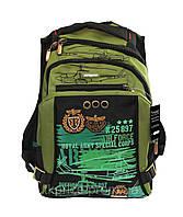 Крутой рюкзак для школы с ортопедической спинкой
