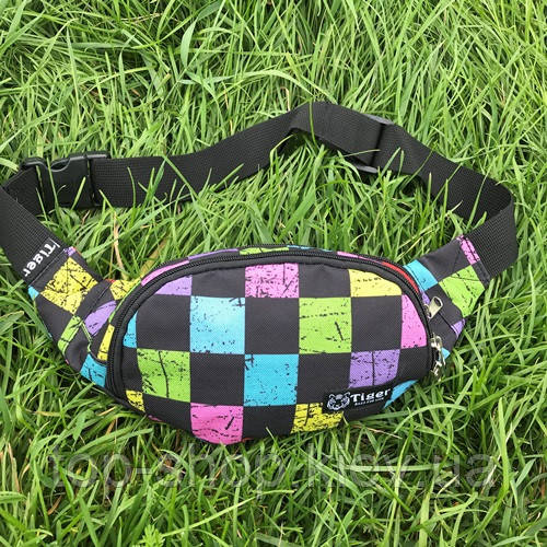 Сумка на пояс Tiger (поясная сумка, бананка) кросс боди