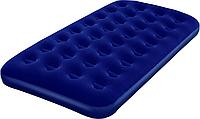 Надувной флокированный матрас bestway 67001 (188x99x22 см) zn ri kk
