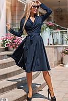 Красивое платье А-силуэта (42-48)