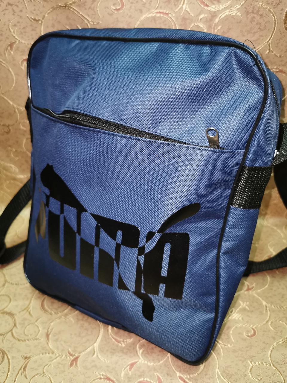 Сумка планшет на плечо PUMA Оксфорд ткань сумка для через плечо только ОПТ